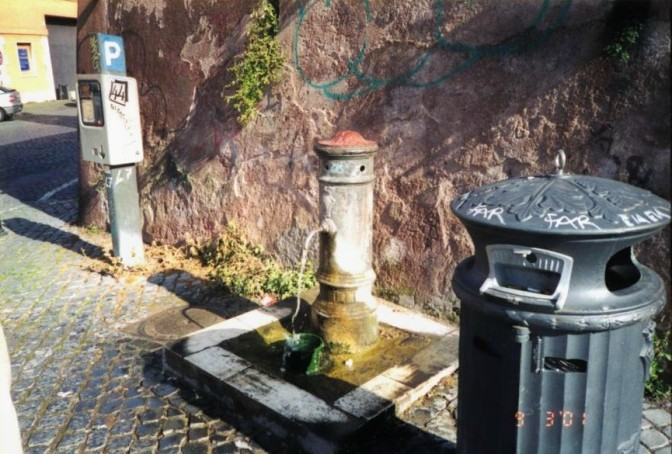 Ancient Drinking Fountain