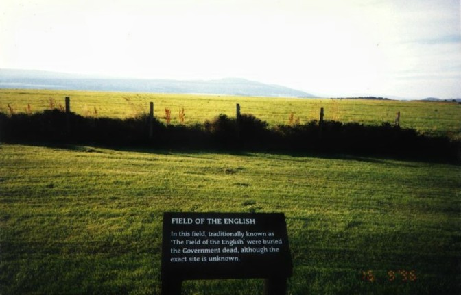 Culloden Field of the English1