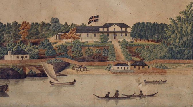 First Government House by John Eyre 1807l State Library of NSW