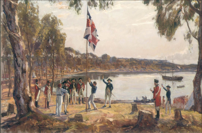 True Australian Journey; by Capt Arthur Phillip